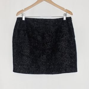 NWT Dalia Collection black mini skirt